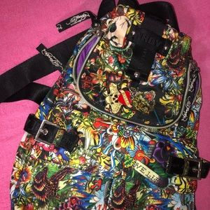 Ed Hardy Purse/Backpack